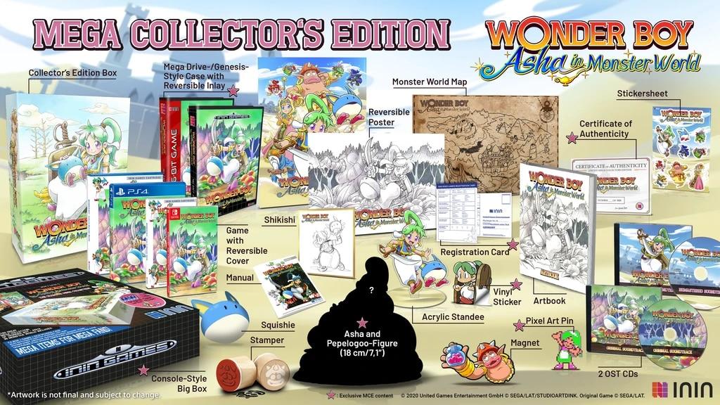 Wonder Boy Mega Collector Switch