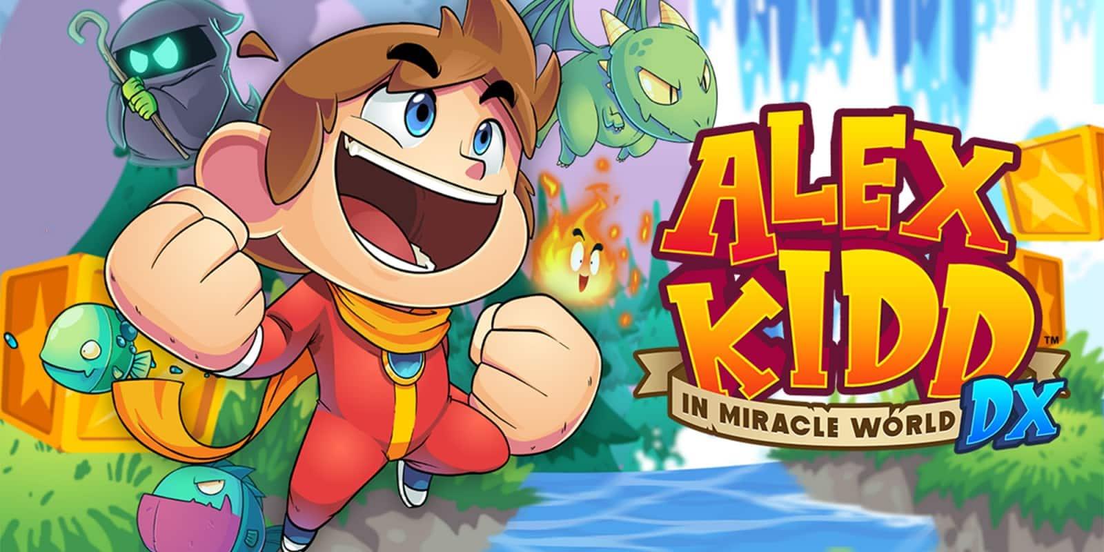 Test Alex Kidd Miracle World DX