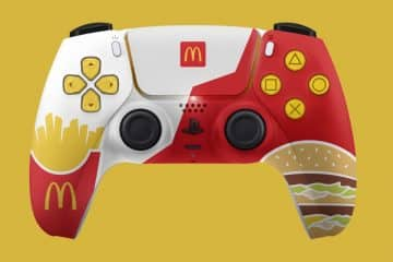 DualSense McDonalds