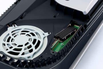 Comment ajouter SSD PS5