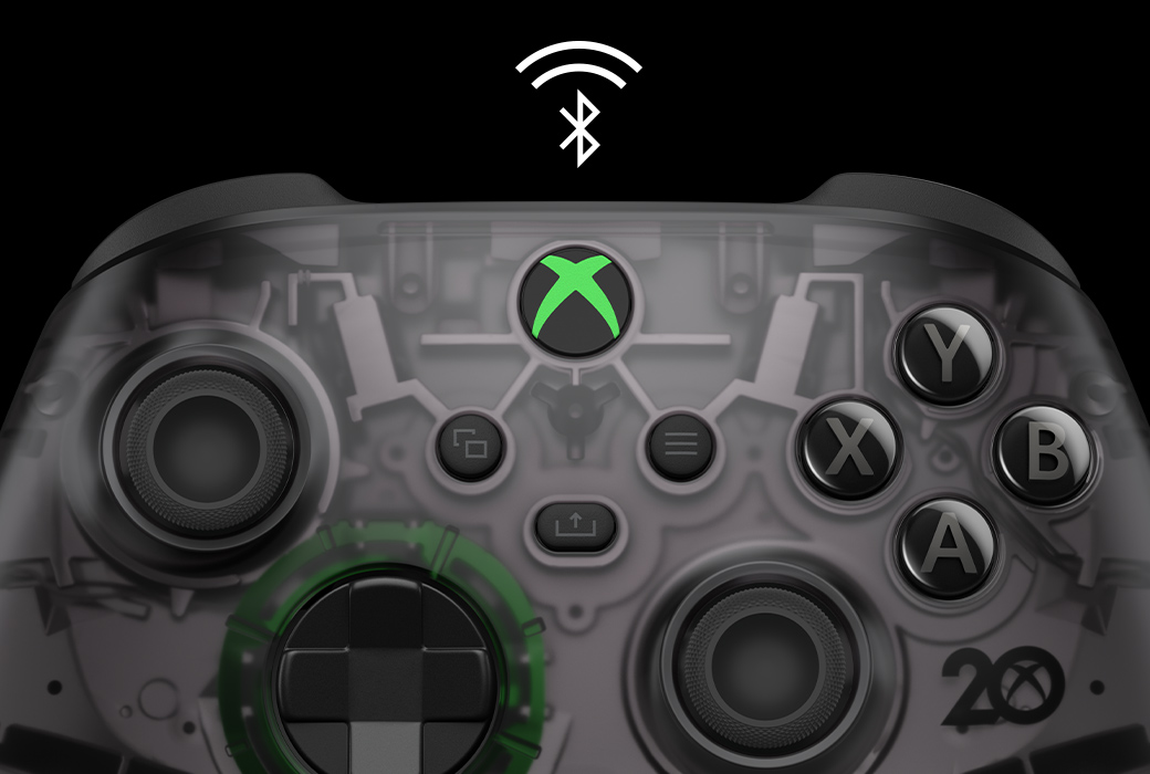 Manette Xbox Collector 20 ans