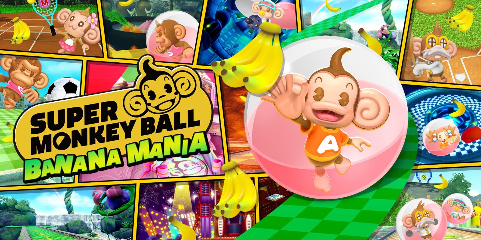 Test Super Monkey Ball Banana Mania
