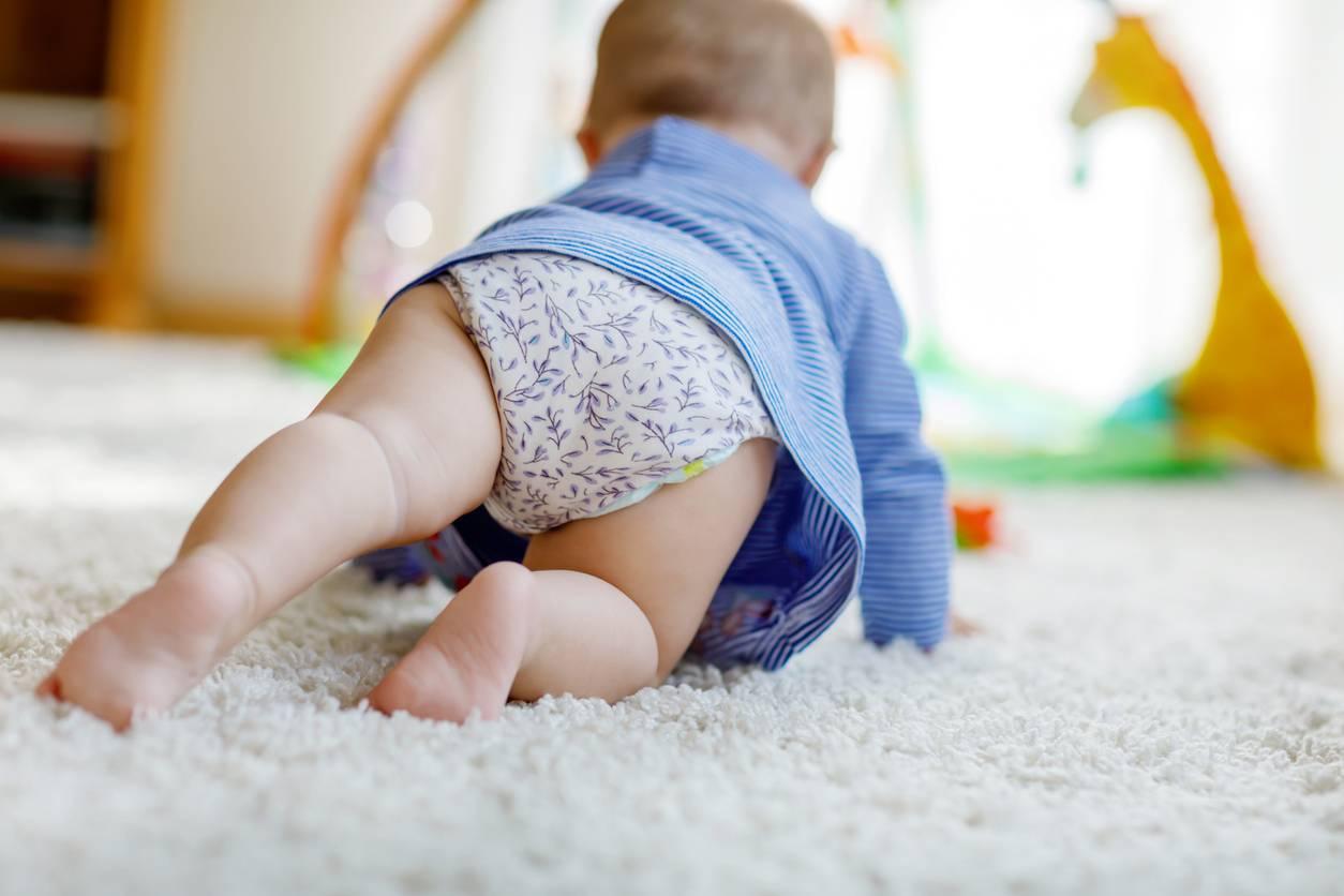 couches bébé saine
